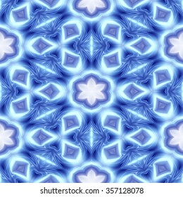 Kaleidoscope abstract background. Seamless pattern useful as design element for texture and patterns