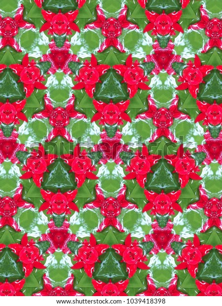 Kaleidoscope art abstract texture background