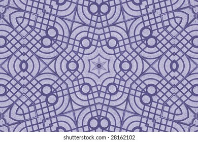 a kaleidoscope  background tile effect abstract illustration