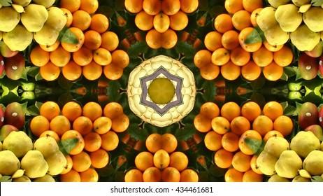 kaleidoscope fruit