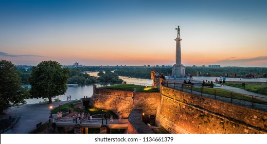 Kalemegdan Fortress and Victor Monument, Belgrade, Serbia