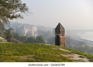 Kalemegdan hill view, Belgrade, Serbia