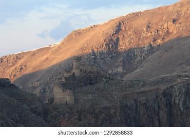 Şeytan Kalesi - Devil Castle - It's located in Ardahan, the city in east of Turkey