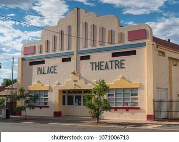 KALGOORLIE, AUSTRALIA - JANUARY 27, 2018: Historic buildings of the city of Kalgoorlie on January 27, 2018 in Western Australia