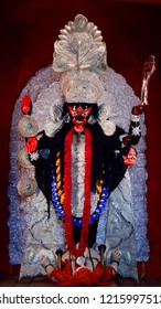 Kali Puja is a festival ,celebrated all over India specially in West Bengal one day prior to Diwali. Goddess Kali is the god of power, also known as Shyama and Kalika  .