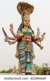 Kali statue of Tamil Nadu