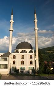 Kalibunarska džamija (mosque) located in Travnik, Bosnia and Herzegovina.