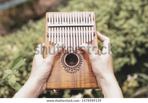 Kalimba Mbira African Musical Instrumenttraditionals Shona
