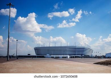Kaliningrad, April 2018, new stadium for the world Cup