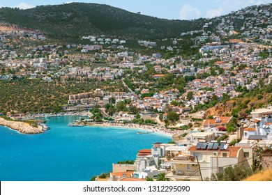 Kalkan gorgeous setting a beautiful cove, its stunning beaches, charming nature. The southwest shore of Turkey Lycian Coast, Kalkan is every holiday-makers dream destination, Antalya.