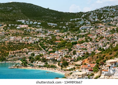 Kalkan is a town of Mediterranean in Antalya. It is an enchanting historic town and one of the most beautiful locations along Turkey's gorgeous Lycian Coast.
