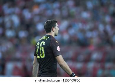Kallang-Singapore-28Jul2018:Emiliano martinez 26 Player of arse