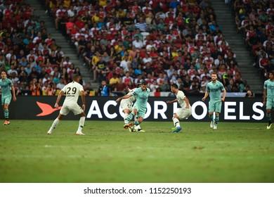 Kallang-Singapore-28Jul2018:Henrikh mkhitaryan #7 Player of arse