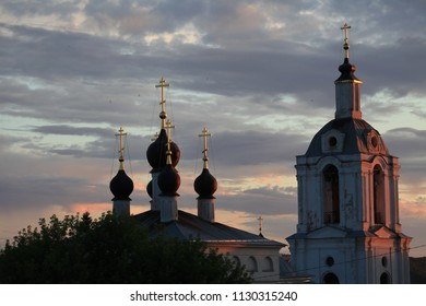 Kaluga church sunset travel