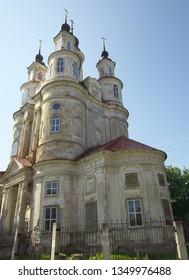 Kaluga, Russia - July 12, 2014: Church of Cosmas and Damian, Kaluga