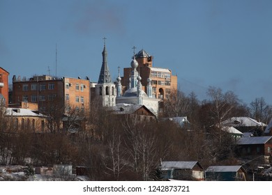 Kaluga russia old city church travel