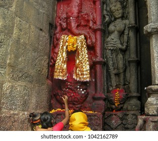 Kamakhya Temple at Guwahati, Assam, Hindu Temple, Sculpture,
