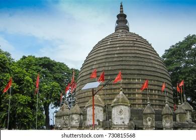 The Kamakhya Temple or Kamrup-Kamakhya is a temple on india