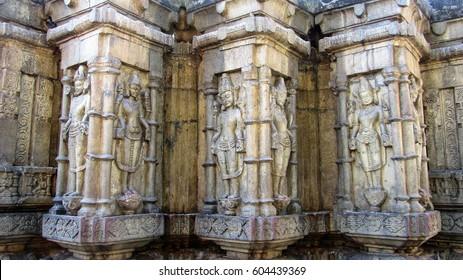 Kamakhya temple sculpture in Guwahati, Assam state in India