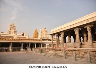 Kamakshi Amman Temple, Kanchipuram, Tamil Nadu, India
