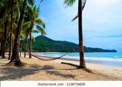 Kamala beach on Phuket island