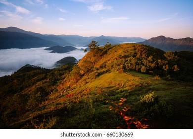 Kamanbaneng Peak Sunrise