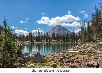 Kamas Lake, Mirror Lake Scenic Byway, Utah