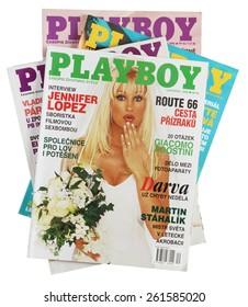 Kamberk - Czech Republic - 18. March, 2015. Magazine Playboy - November 2000. Czech edition.