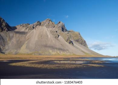 Kambhorn Mountain. Stokksnes, Iceland