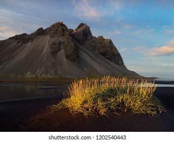 Kambhorn Mountain, Stokksnes, Iceland