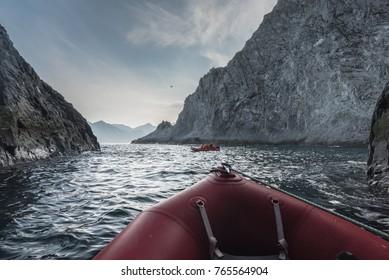 Kamchatka boat trip