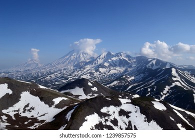 Kamchatka mountain landscape