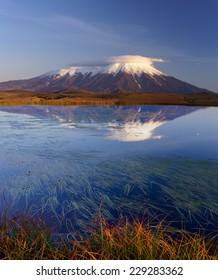 Kamchatka, National park Klyuchevskoy in September