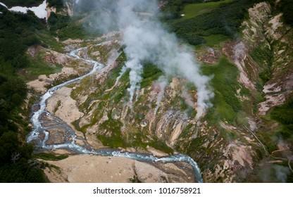 Kamchatka Peninsula Volcano