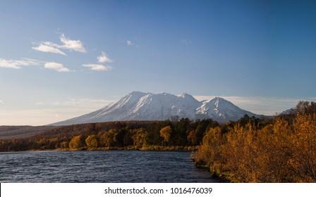 Kamchatka Zhupanovsky volcano