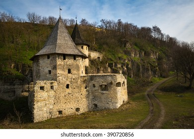Kamianets-Podilskyi castle on the west of Ukraine