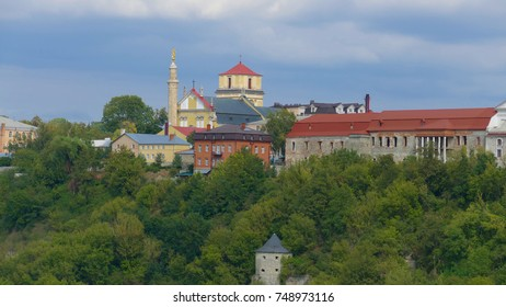 Kamieniec Podolski - an old medieval town full of monuments - castles of towers of the walls. It is an important tourist resort known in Poland and Ukraine especially by the famous castle.