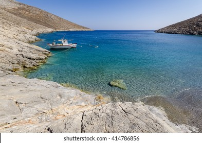Kaminakia beach in Astypalaia island Greece