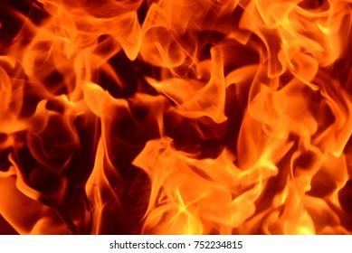 Kaminfeuer in Spanien