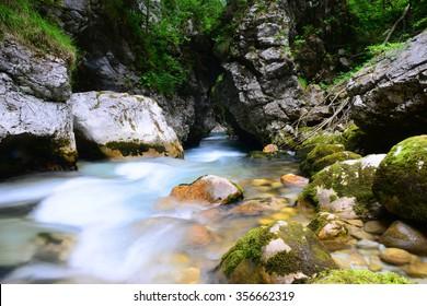 Kamniska bistrica valley, Slovenia