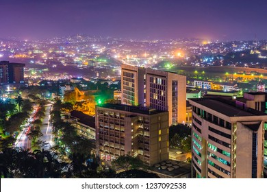 Kampala City by night