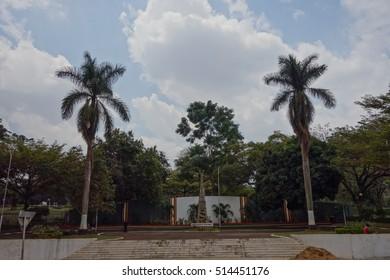 KAMPALA, UGANDA - CIRCA SEPTEMBER 2016: The Independence Monument
