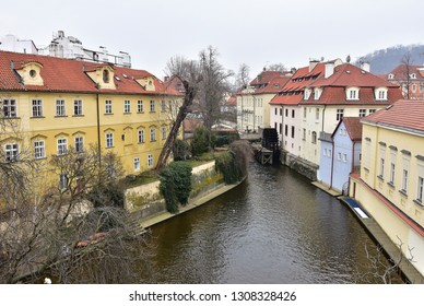Kampa,part of Prague,capital city of Czech republic