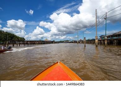 Kampong Ayer, world's largest floating village, Bandar Seri Begawan, Brunei