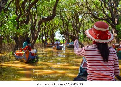 Kampong Phluk water market