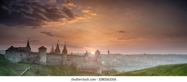 Kamyanets-Podilskiy fortress, Ukraine
