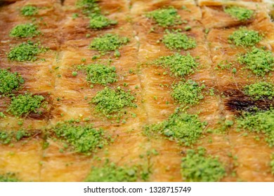 Kanafeh with pistachio