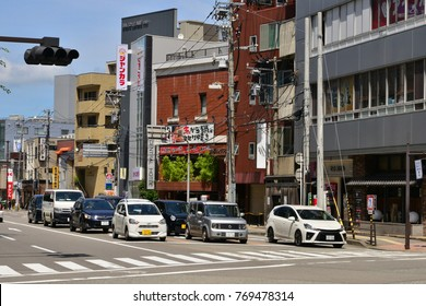 Kanazawa, Japan - august 1 2017 : the city center
