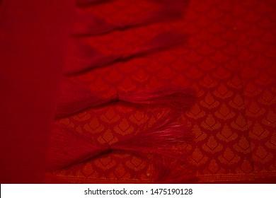 Kancheepuram silk saree, traditional Indian women's dress