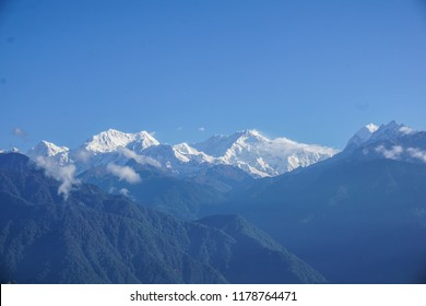 Kanchenjunga mountain. Sikkim, India